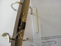 Blitzhefter transparent (100 Stk) - fixiert gelochte Unterlagen
