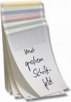 Ordner-Einlagen in GELB - Großpackung mit 800 Stk